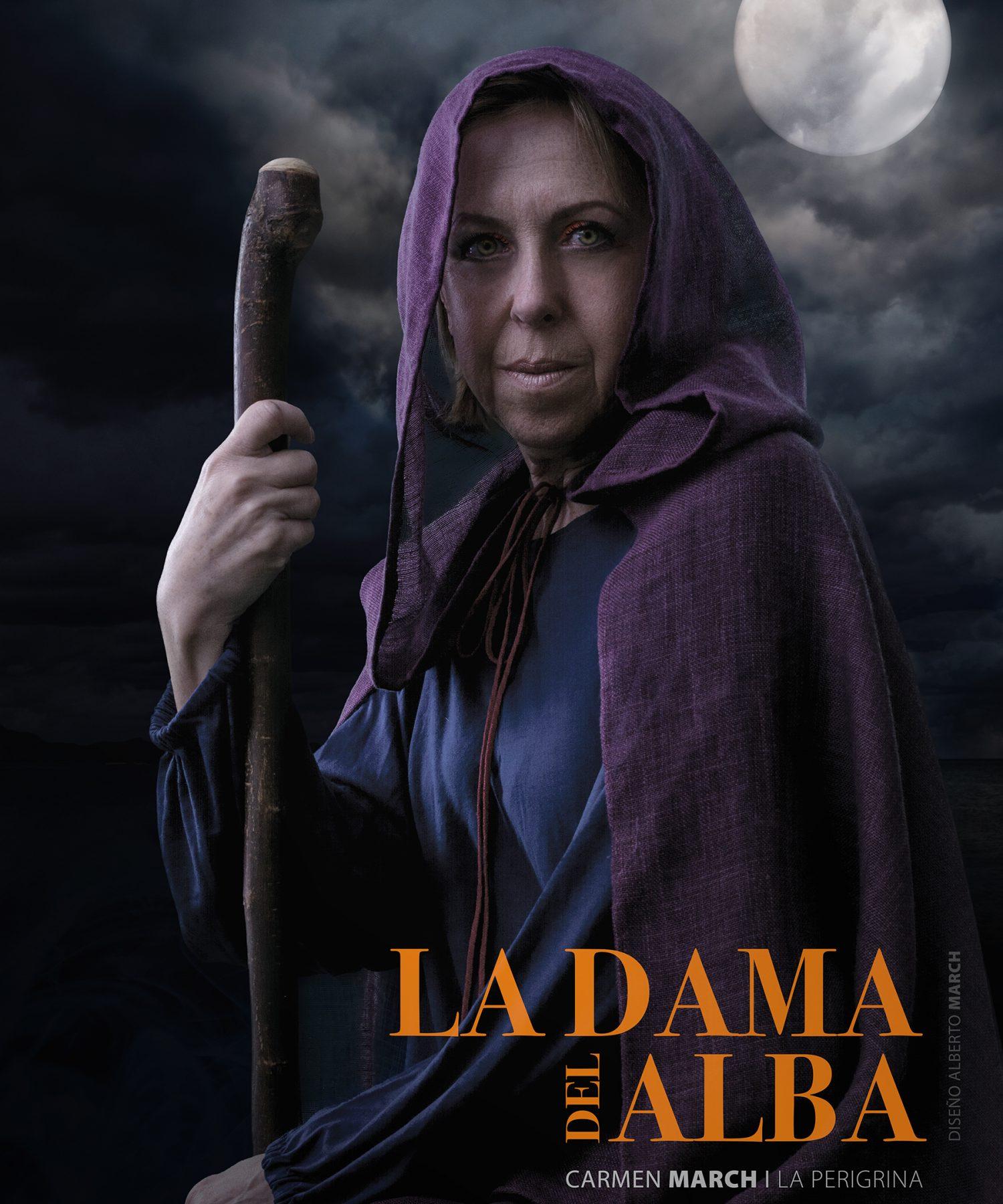 Carmen March as La Peregrina